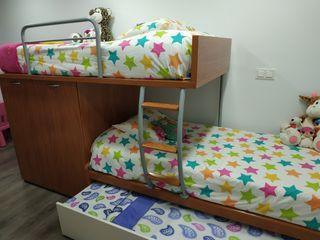 cama tren litera