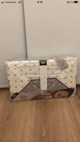 Conjunto cama franela 150x200