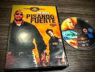 PISANDO FUERTE pelicula dvd The Rock