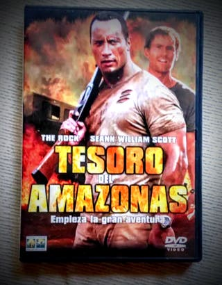 TESORO DEL AMAZONAS pelicula dvd The Rock