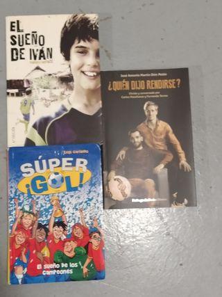 3 libros juveniles Futbol