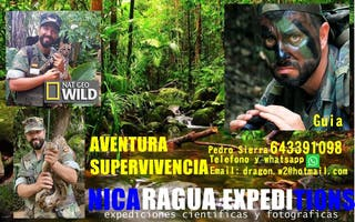 Guías de aventura a Nicaragua