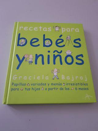libro recetas para bebés y niños