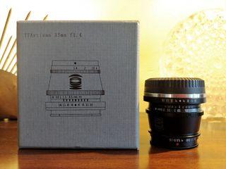 TTArtisan 35 mm 1.4 Fujifilm montura X