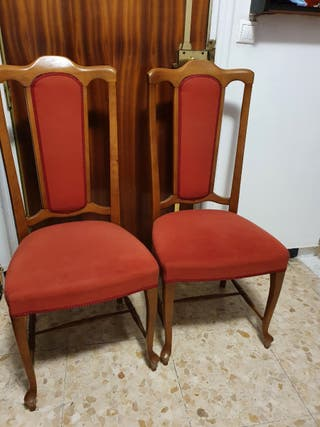 2 sillas cada una 6€ oferta