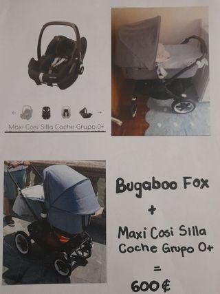 bugaboo fox + maxicosi