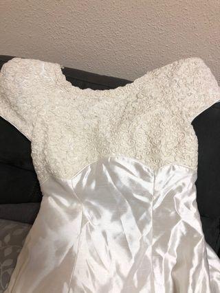 Vestido novia talla 34/36