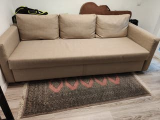 Vendo Sofá cama 3 plazas, beige, FRIHETEN