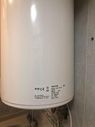 Calentador de agua 50litros
