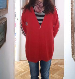 Jersey Rebeca de punto roja