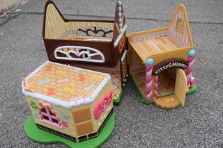 Juguete Casa de Muñecas Kitty y Mimmy
