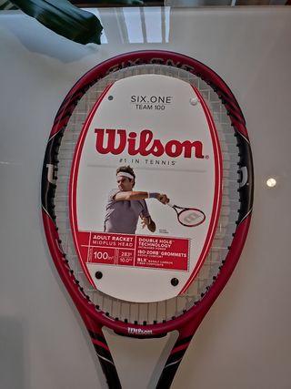 Raqueta de Tenis adulto Wilson Six One Team 100