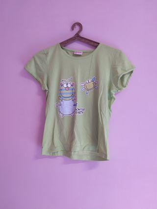 camiseta de pijama infantil