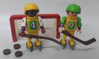 Hockey hielo niños Playmobil