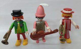 3 payasos del circo Playmobil