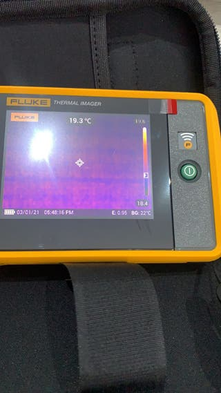 Cámara termografica FLUKE PTi 120
