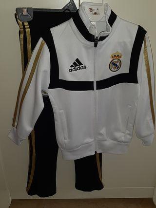 chándal Adidas Real Madrid talla 4