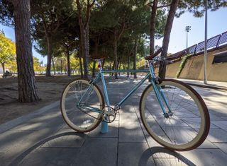 Bicicleta fixie/una velocidad