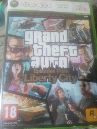 Grand Theft Auto per a XBOX 360.