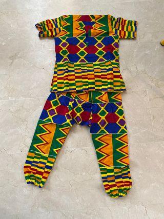 Carnaval traje africano niños