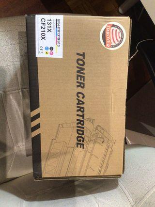 Toner HP 4 colores nuevos