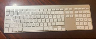 Techado inalámbrico apple magic + teclado numeric