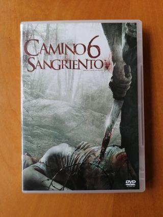 camino sangriento 6 terror dvd