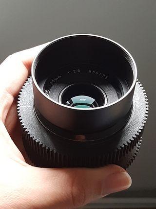 Nikon Nikkor 24mm y 35mm f2.8 ais