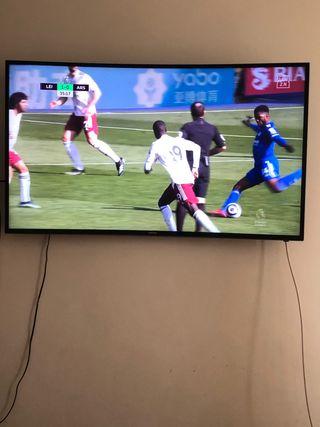 Vendo tv curved samsung 48 pulgadas HD