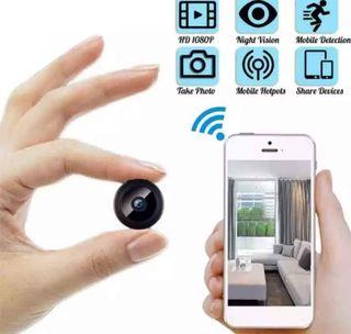 Mini Cámara de Vigilancia con WiFi
