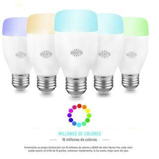 Bombilla inteligente LED 27w compatible con Alexa