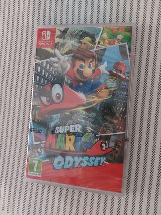Super Mario Odissey sin abrir