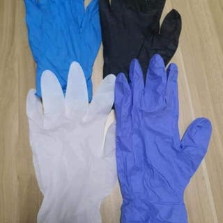 Venta al por mayor de guantes de nitrilo sin polvo