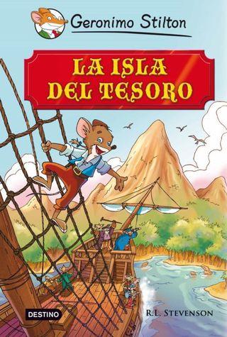 Libro infantil Isla del Tesoro Geronimo Stilton