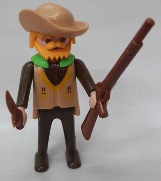 Trampero cazador oeste Playmobil