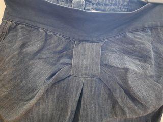 falda vaquera lazo zara