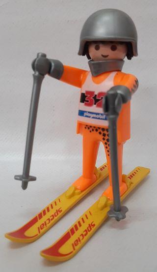 Esquiador nieve Playmobil