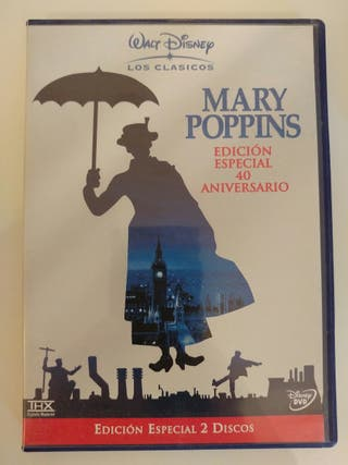MARY POPPINS (ed. especial) + 4 DVD