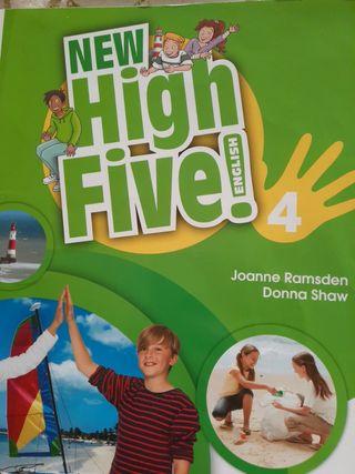 Libro english 4 primaria New high five macmillan