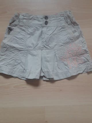 falda Zara de 7 a 9 años