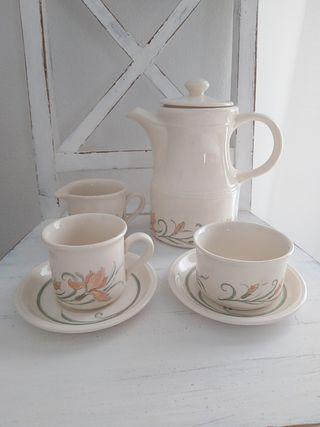 Cafetera cerámica inglesa Biltons England