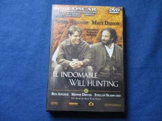 DVD - EL INDOMABLE WILL HUNTING