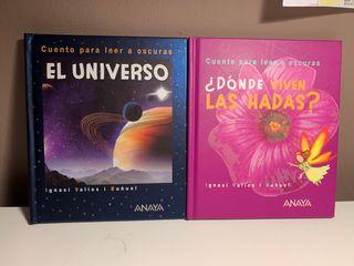 Pack 2 libros Cuentos para leer a oscuras