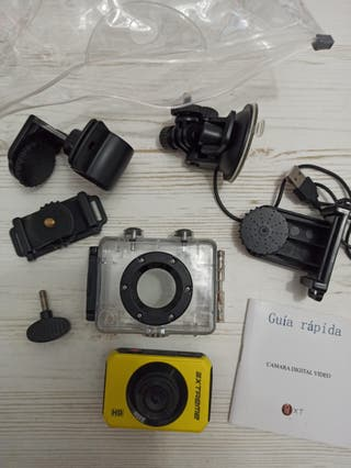 wxt pro extreme cámara sumergible hd