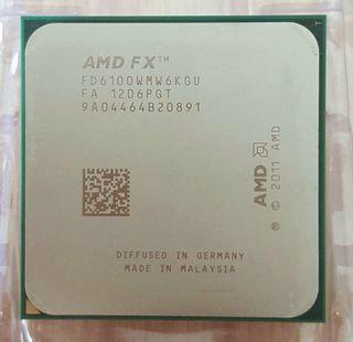 CPU AMD FX 6100 - SIX CORE