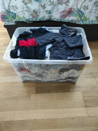 lote ropa de 3-6 meses niño