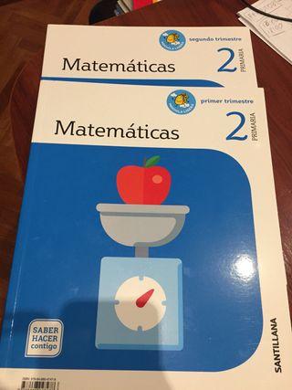 Matemáticas 2 primaria. Santillana saber hacer con