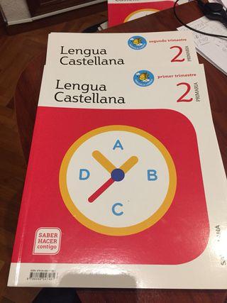 Lengua castellana 2 primaria Santillana. Saber hac