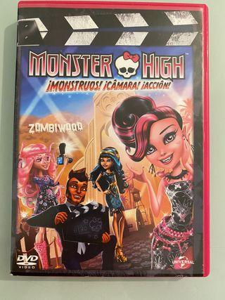 Película dvd Monster High