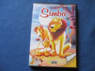 DVD - SIMBA - LA LEYENDA DEL REY LEÓN II